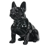 French Bulldog Sitting - Black Gloss