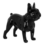 French Bulldog Standing - Black Gloss