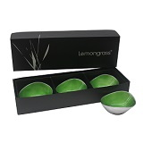 Boxed Set of 3 Lime 13cm Bowls