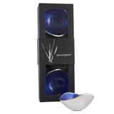 Boxed Set of 3 Blue 13cm Nut Bowls