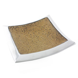 Light Granite Square Platter 35cm