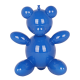 Balloon Teddy Bear - Blue