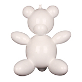 Balloon Teddy Bear - White