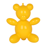 Balloon Teddy Bear - Yellow