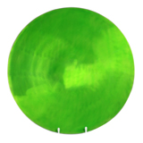 Lime Round Plate 45cm