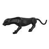 Geometric Matte Black Panther