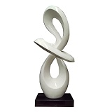Ring of Infinity Sculpture - White