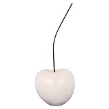 White Cherry Large Ornament